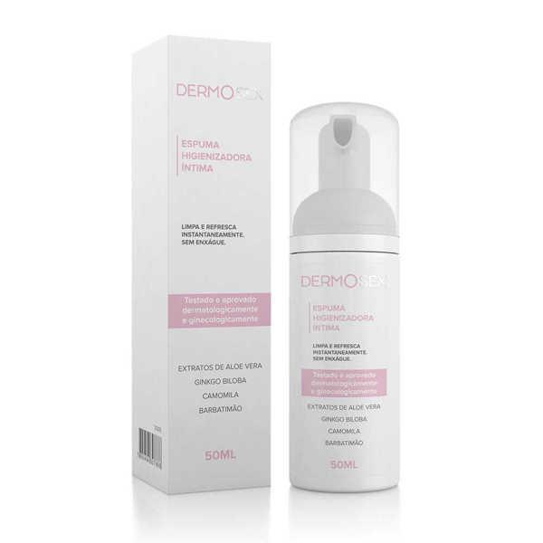 Imagem de Espuma Higienizadora Íntima Dermosex – 50 ml